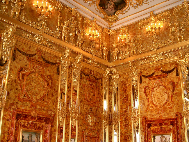 5.) Amber Room - Russia