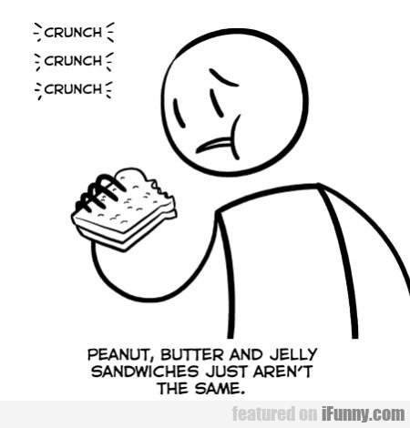 Crunch Crunch Crunch Peanut Butter...