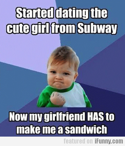 Started Dating Cute Girl From Subway