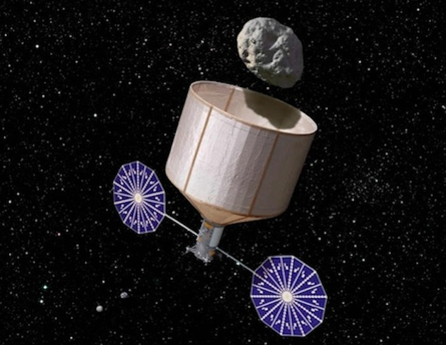 4.) Asteroid Mining: Planetary Resources, Inc. has an eye on asteroids... but not for the reason you may be thinking. They're looking to mine them for precious metals.