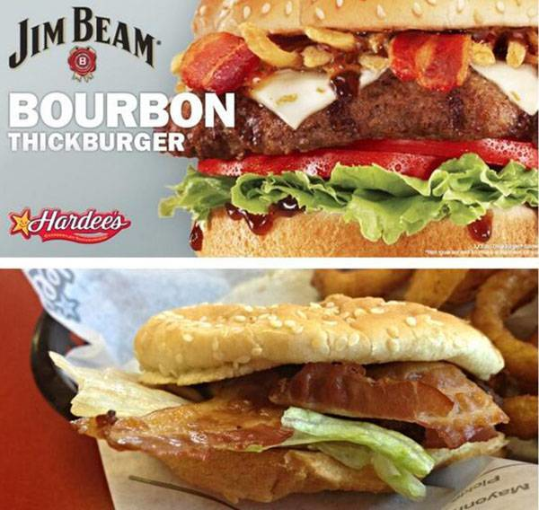 5.) Jim Beam Bourbon Thickburger