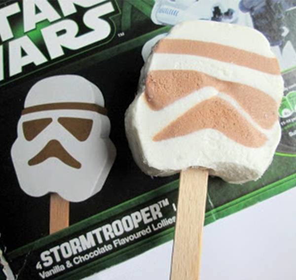 6.) Star Wars Ice Cream Pop