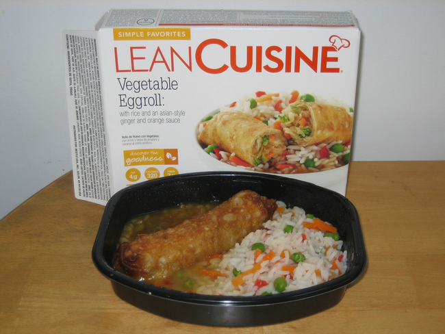 8.) Lean Cuisine Vegetable Eggroll