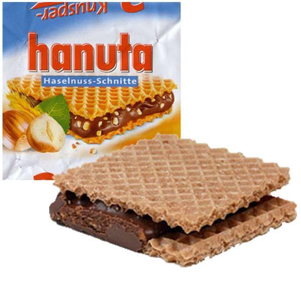 9.) Hanuta Haselnuss-Schnitte