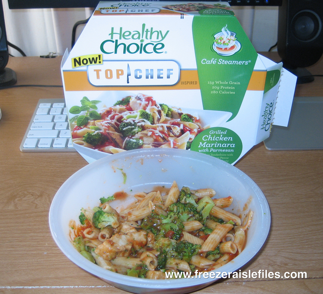 10.) Healthy Choice Chicken Marinara