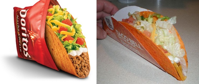 13.) Taco Bell Doritos Locos Taco Supreme