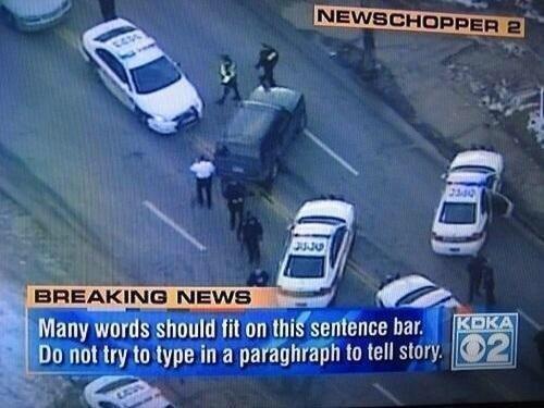 10.) Local news interns.
