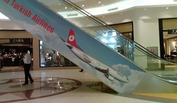 12.) This is the opposite of what you want to associate an airline with.