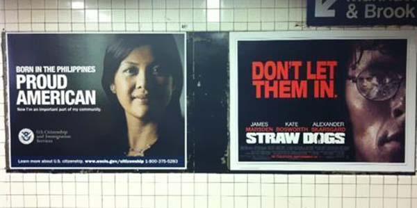 14.) An unfortunate movie advertisement.