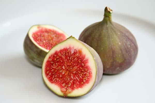 6.) Figs have dead wasps inside of them. The wasps pollinate the figs by entering them, laying their eggs, and subsequently dying inside. There, they're digested by special enzymes within the fig.