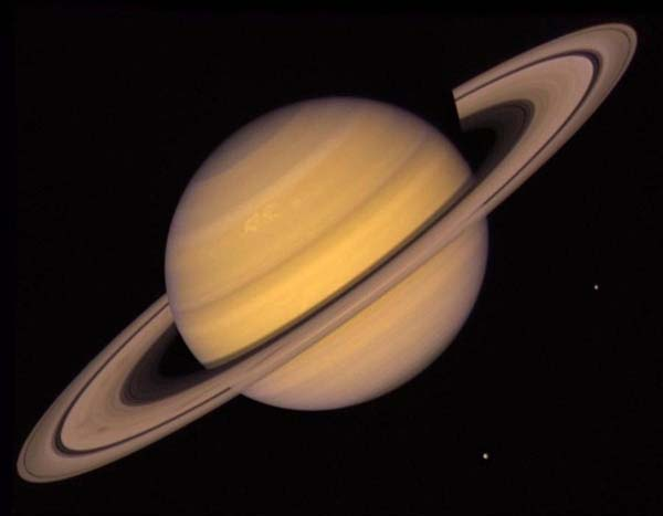 5.) The rings of Saturn are only 30 feet thick.