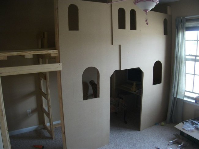 Add some MDF layered walls (It's light, easy to cut and cheaper than plywood).