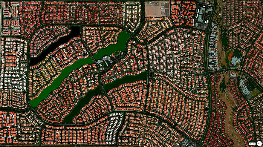 Desert Shores Community, Las Vegas, Nevada, USA