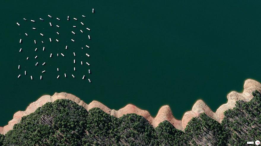 New Bullards Bar Reservoir, Yuba County, California