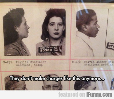 They Don't Make Charges Like This Anymore...