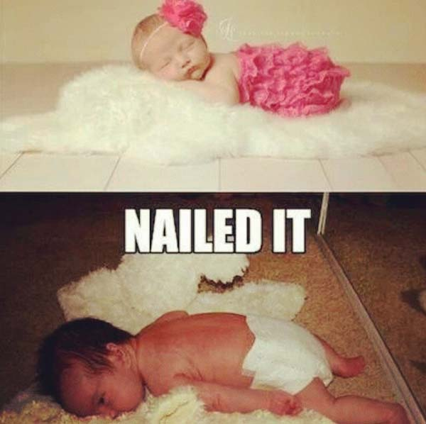 4.) That baby is naturally graceful.