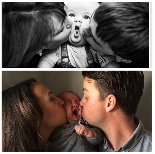 9.) Baby no like squishy.