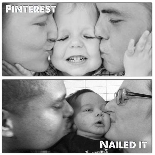 10.) Even the Pinterest baby doesn't like this.