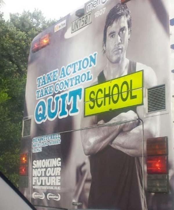 1.) Kids... quit school today.