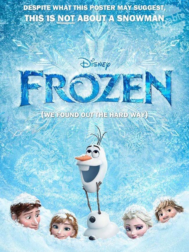 """1.) """"Frozen."""""""