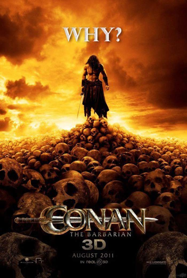 "4.) ""Conan the Barbarian."""