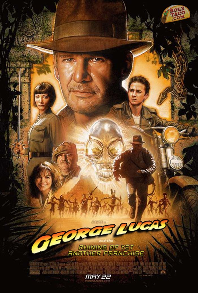 "12.) ""Indiana Jones and the Kingdom of the Crystal Skull."""
