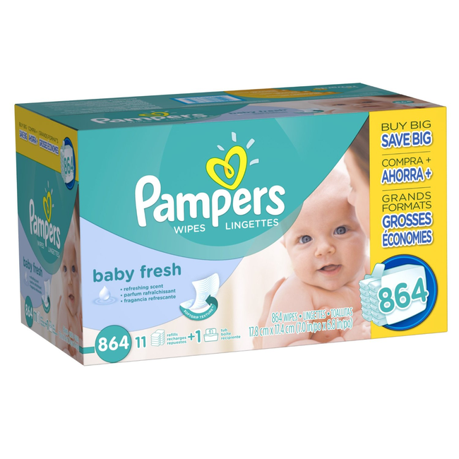 1.) Baby wipes make great make-up removers.