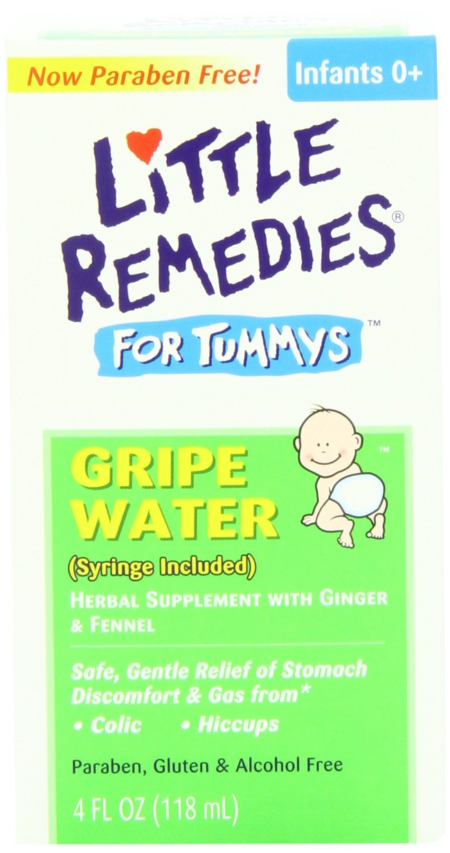 3.) Gripe water can help young and old with upset stomachs.