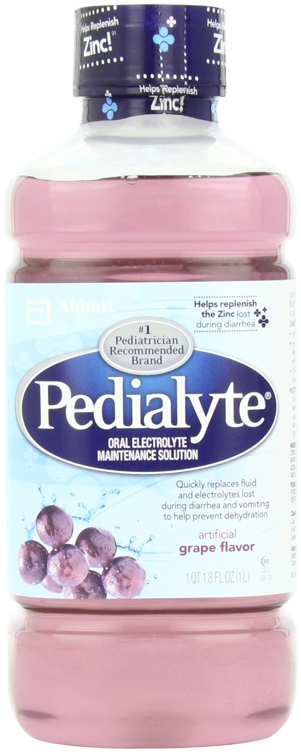 4.) Hungover? Try some Pedialyte.