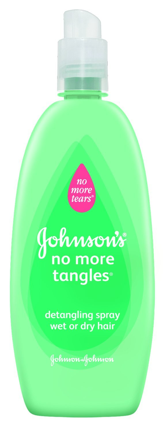 11.) De-tangling spray can also be used as a leave-in conditioner.