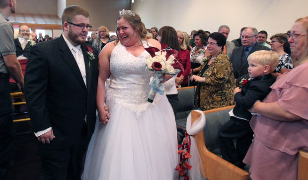 Sarah and Angelo Salvatore felt so blessed to be able to have her dad at the wedding, when all hope seemed lost.