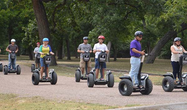 4.) Inventing the Segway... then driving it off a cliff (Jimi Heselden in 2010).