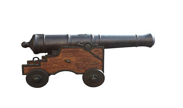 9.) Getting shot by a cannonball that was fired in honor of your not dying in battle (John Kendrick in 1794).