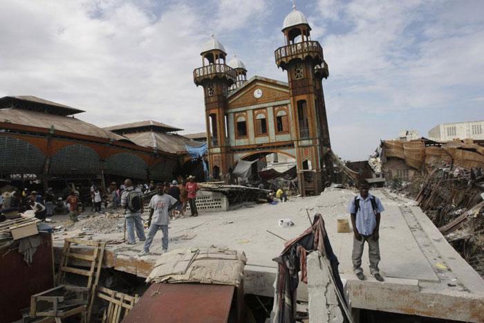 4) Catastrophic earthquake destroys the town of Léogâne, 2010 (Haiti)