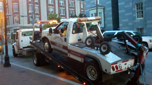 11.) Tow trucks gonna tow.