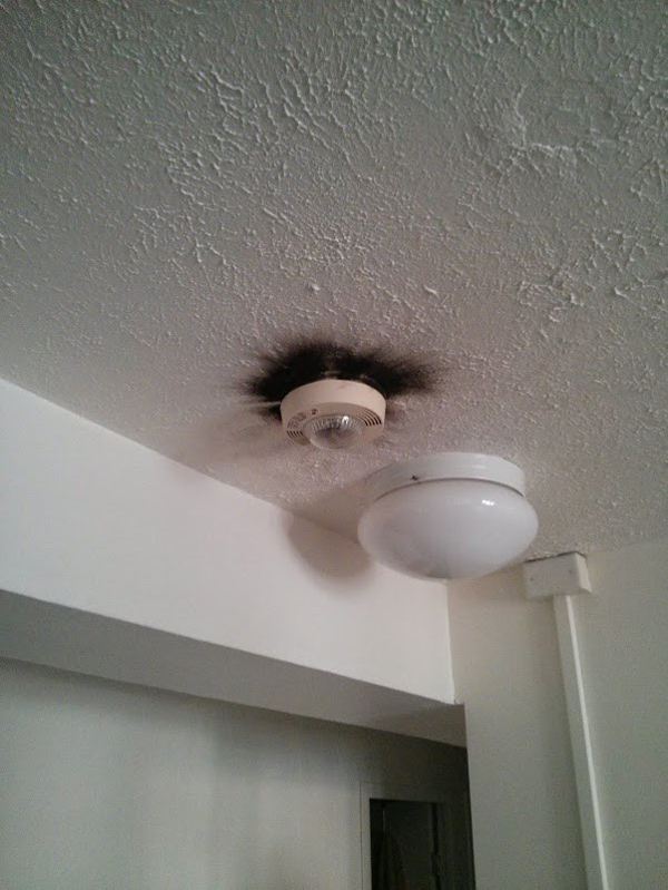 7.) It's called a Smoke Alarm. Not a Won't Catch On Fire Alarm.