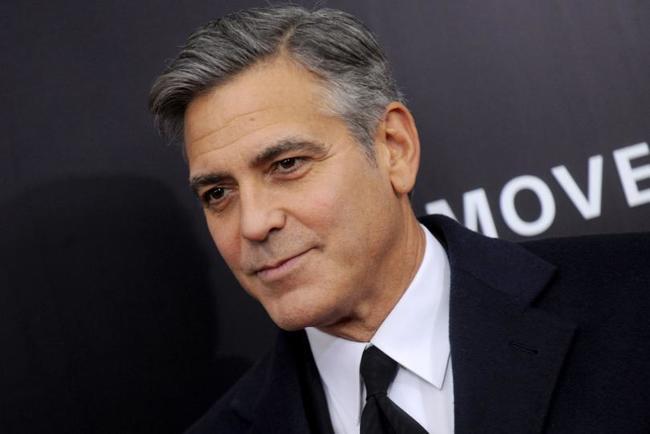 2.) George Clooney