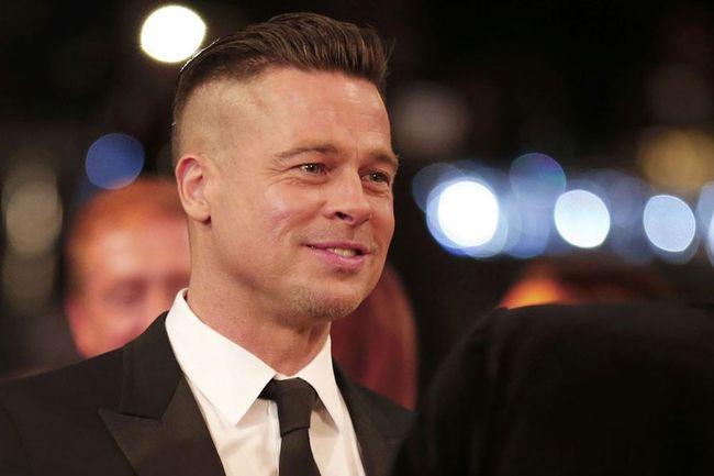 7.) Brad Pitt
