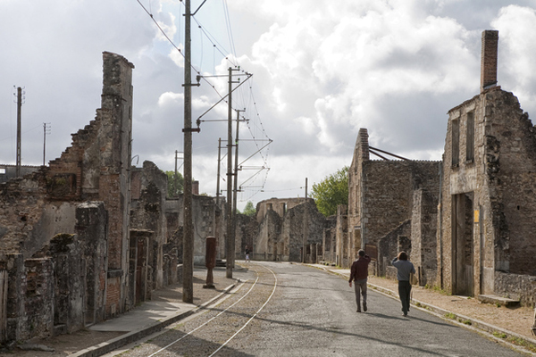 5.) Oradour-sur-Glane (France): This is a small French village that was decimated by the Nazis in WWII. The entire city was burned and almost every inhabitant was executed. The remnants of the village still stand today.