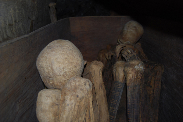 13.) Kabayan Mummy Caves (Philippines): The Kabayan Mummy Burial Caves are manmade caves full of preserved mummies, isolated from most of the world. These mummies are some of the best preserved in the world.
