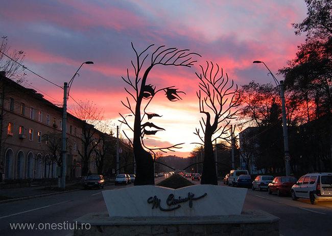 7.) Mihai Eminescu (Onesti, Romania)