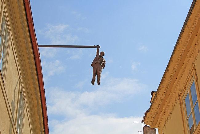 5.) Man Hanging Out (Prague, Czech Republic)