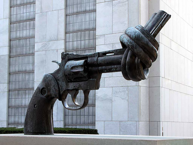 16.) The Knotted Gun (New York, New York, USA)