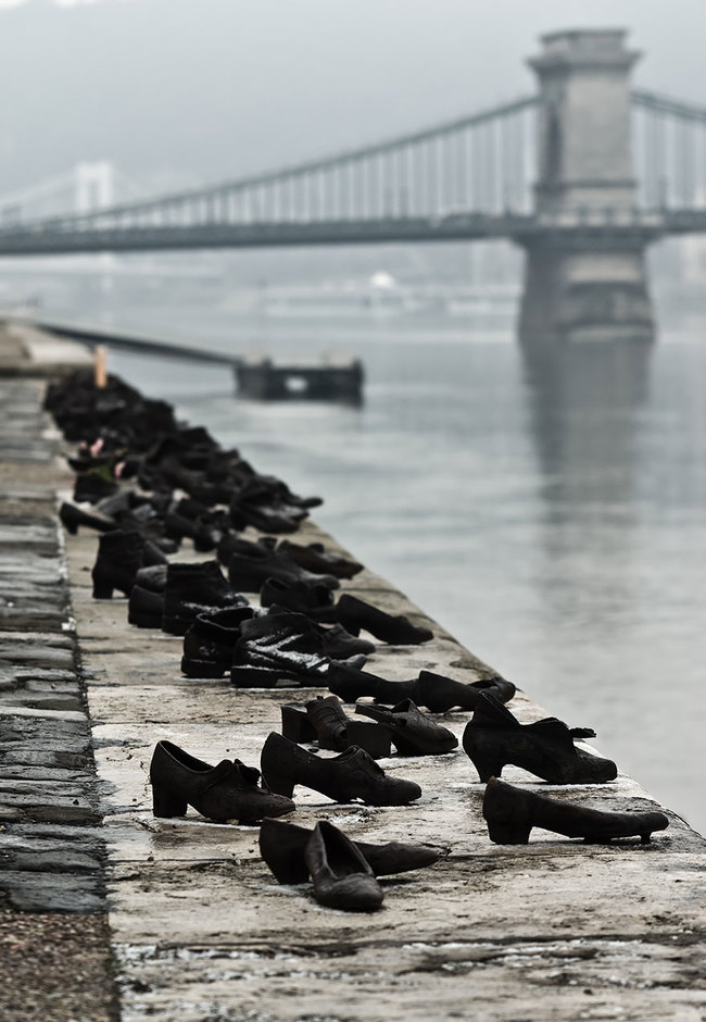 17.) The Shoes On The Danube Bank (Budapest, Hungary)