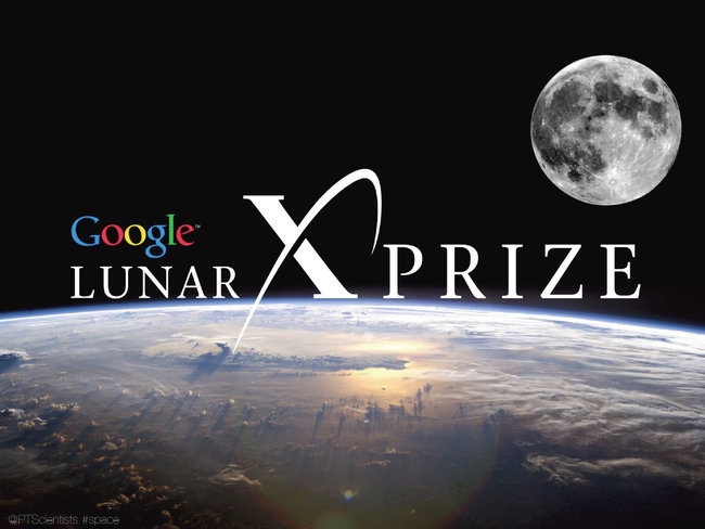 """Google is offering $30 million dollars to whomever can """"send a robot to the moon, travel 500 meters and transmit video, images and data back to the Earth"""" because I guess this planet belongs to Google now and we better start finding a new one."""