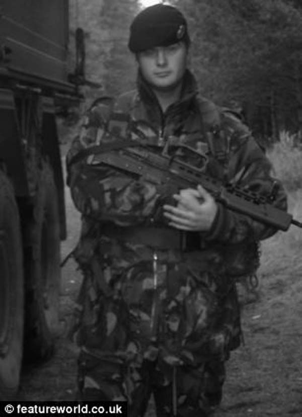 Gary was a Lance Corporal with the Royal Engineers, and had served in Iraq, Kosovo and Afghanistan.