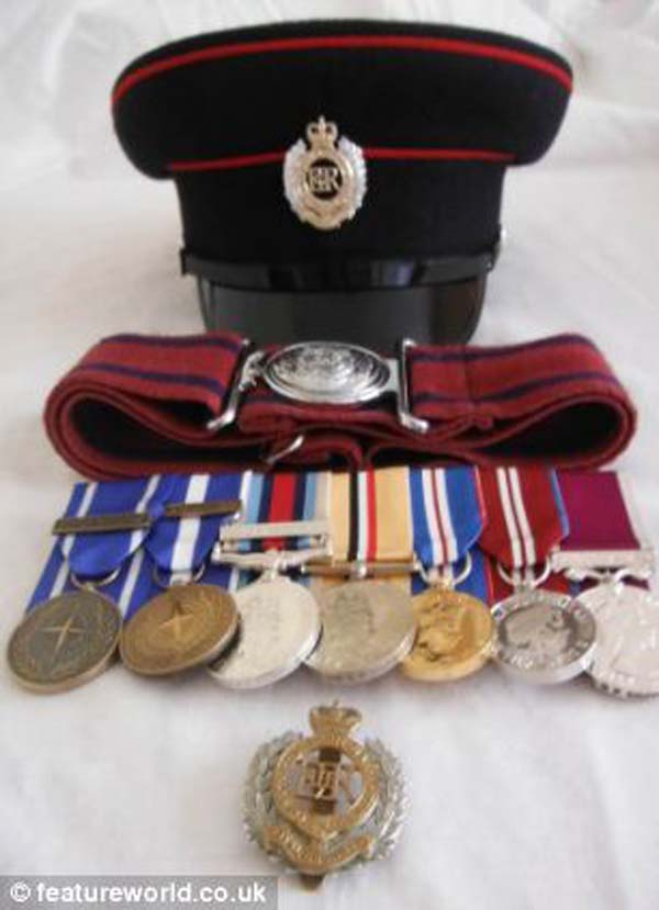 His awards and medals were some of his proudest possessions.