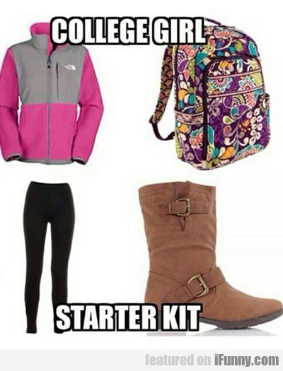 College Girl, Starter Kit...