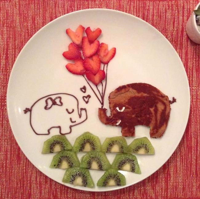 A pancake elephant.
