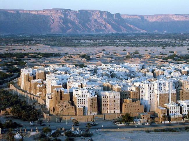 2.) Shibam, Yemen
